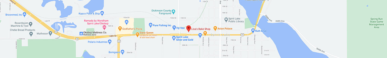 Lisa's Bake Shop Spirit Lake, Iowa